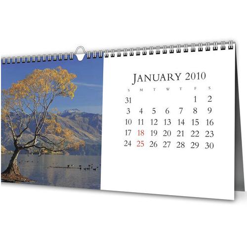 calendar printing design